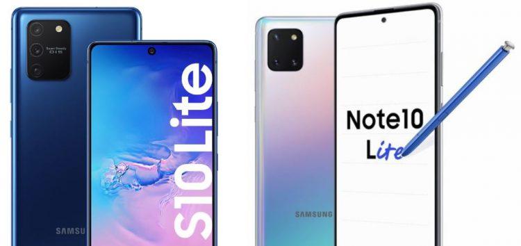 S10 lite ve Note 10 lite ilk güncellemesini aldı. Bu ne hız Samsung?
