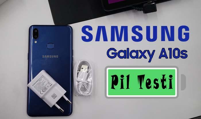 Samsung Galaxy A10s pil testi! Ucuz ama…
