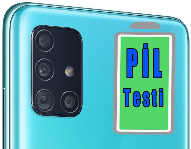Samsung Galaxy A51 pil testi – Sınıfı geçti mi?