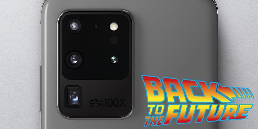 Galaxy S20 Ultra Geleceğe Dönüş filminden fırlayan güncelleme aldı!