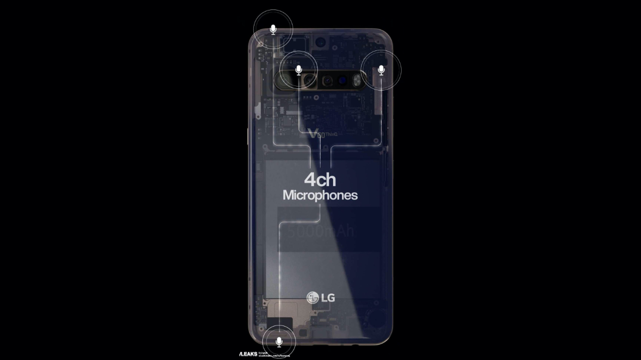 LG V60 ThinQ ortaya çıktı! LG telefon sektörüne havlu atmayacak!