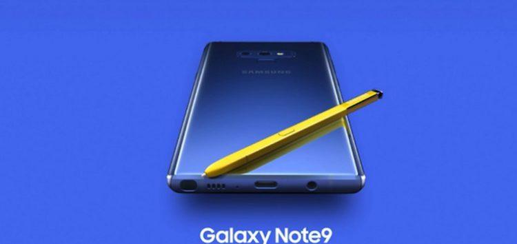 Samsung Galaxy Note 9 kullanıcılarına sevindirecek güncelleme!!!