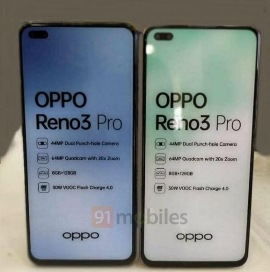 OPPO Reno3 Pro ön