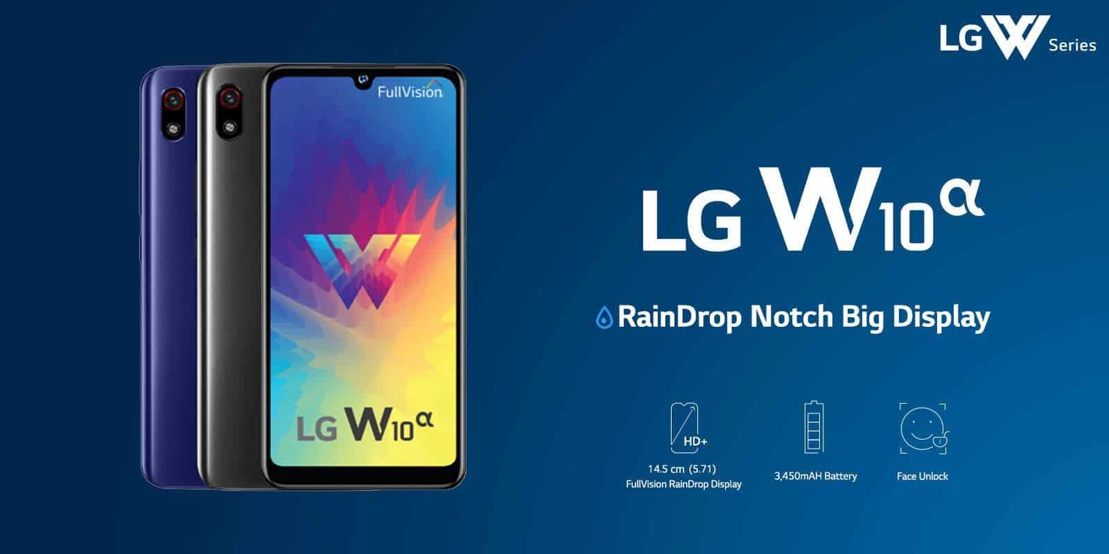 LG W10 Alpha ile 100 dolar bandına indi!