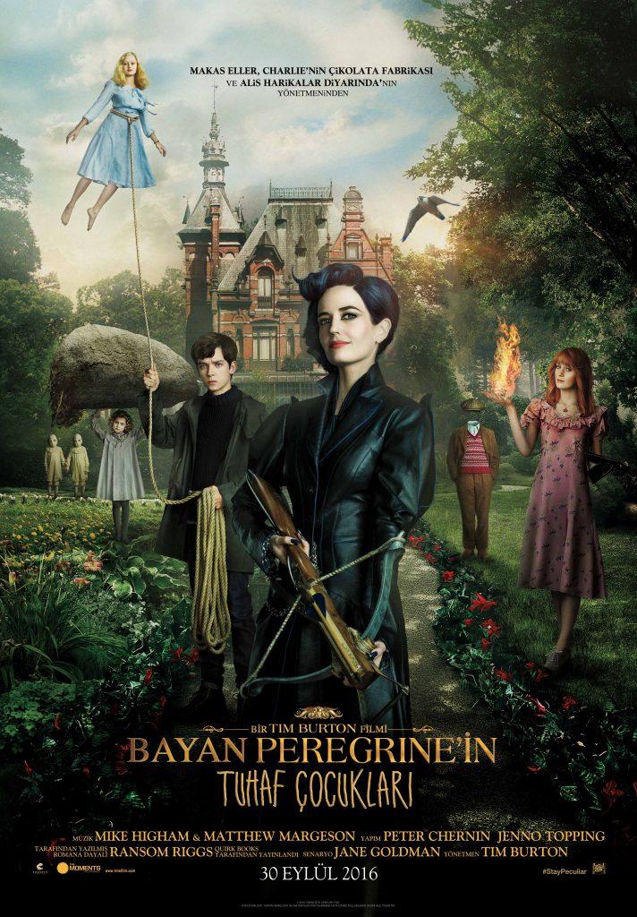 Bayan Peregrine'in Tuhaf Çocukları