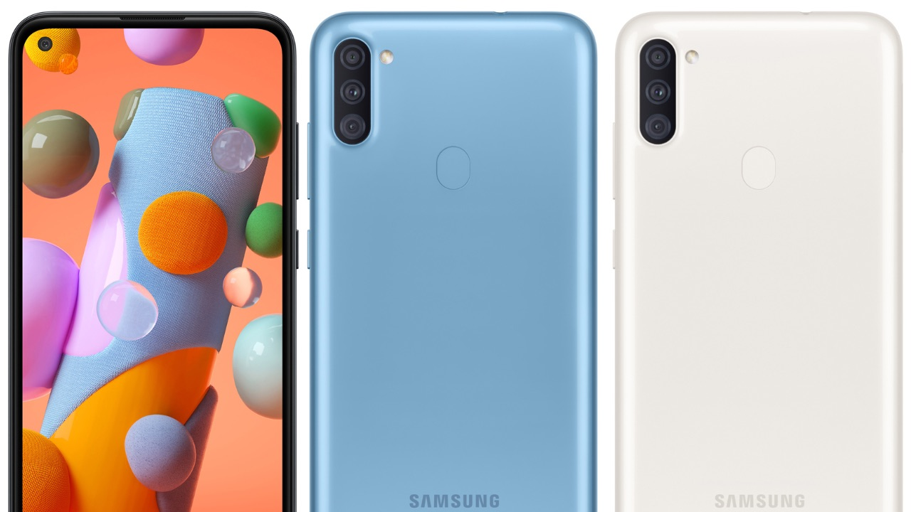Samsung Galaxy A11 tanıtıldı! Üç kamera giriş segmentine de geldi!
