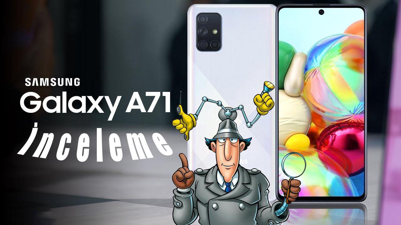 Samsung Galaxy A71 inceleme! A51 ile de karşılaştırma