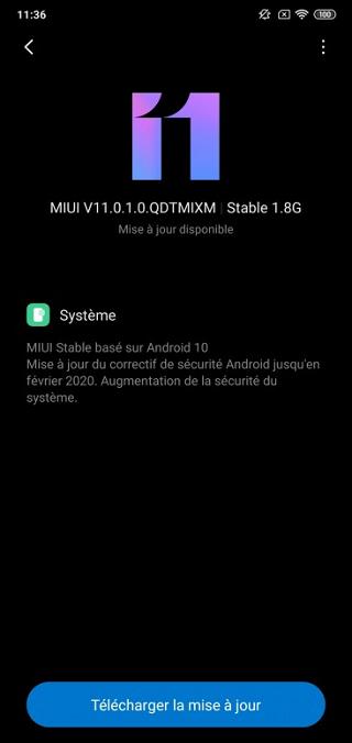 Mi 8 Lite Android 10 update global