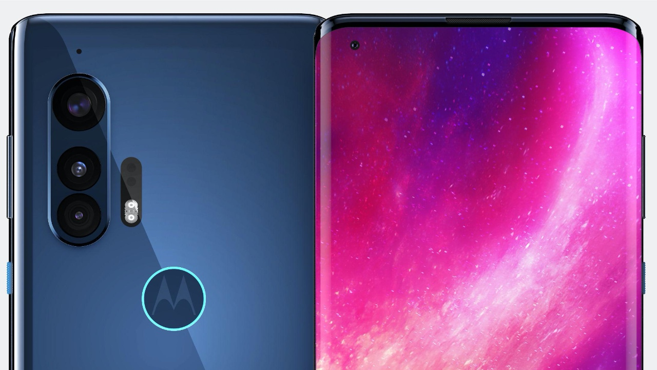 Motorola Galaxy S8 Edge'e özendi! Motorola Edge+ geliyor!