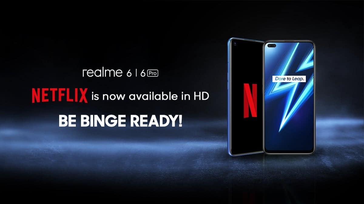 Realme 6 için Netflix güncellemesi nihayet yayınlandı!!!
