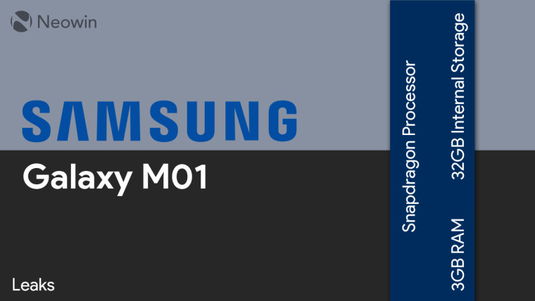 Samsung Galaxy M01 Android 10 İle Geliyor!