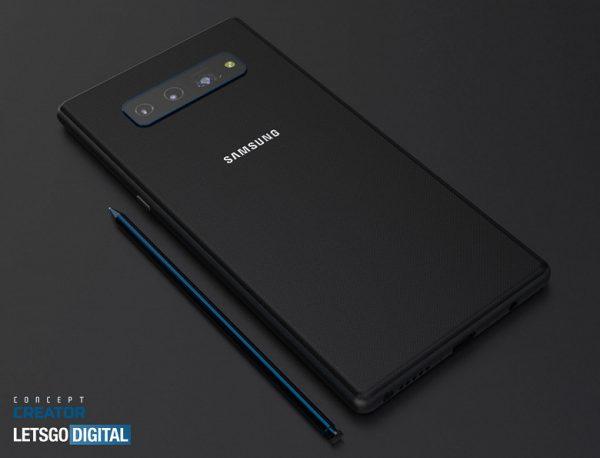 Samsung Galaxy Note 20 ön kamerasız ekranı ile görüntülendi