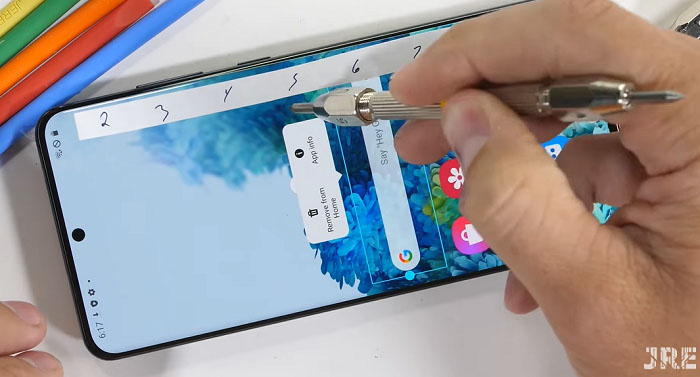 Samsung Galaxy S20 Ultra ne kadar sağlam?