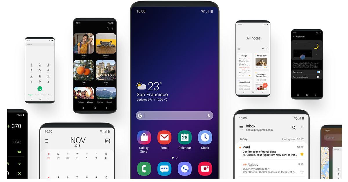 Samsung, One UI 2.5 arayüzü için çalışmalara başladı!!!