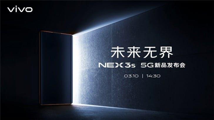 Vivo NEX 3s 5G tüm özellikleri ile yeniden sızdı!
