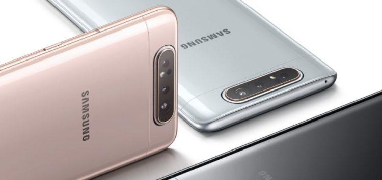 Galaxy A80 One UI 2.0 ve Android 10 güncellemesine nihayet kavuştu!!
