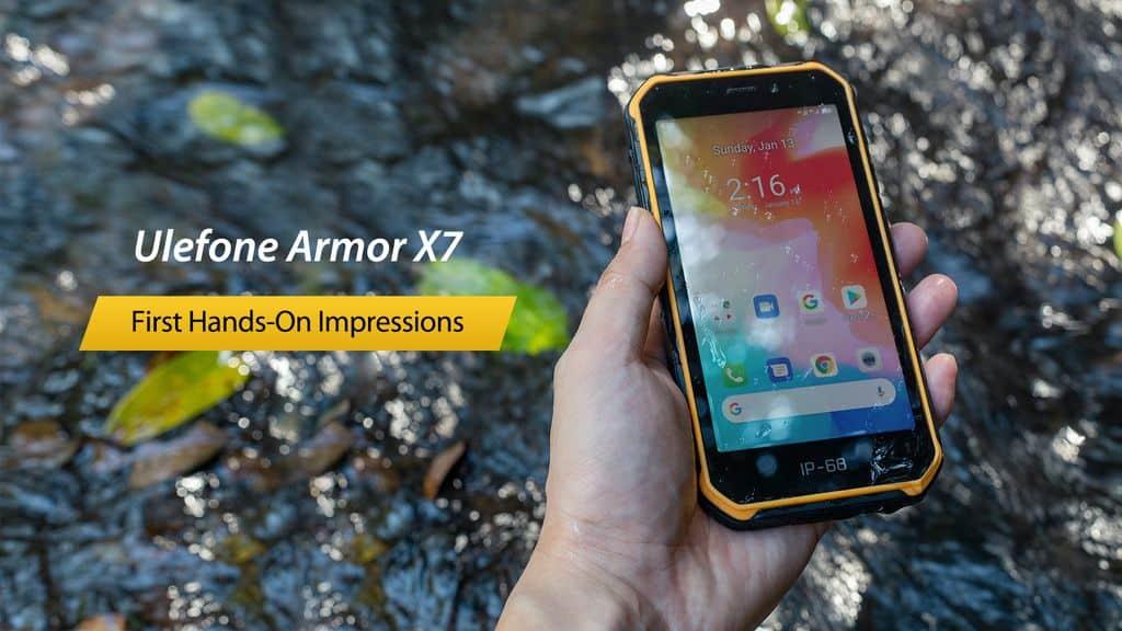 Daş Düşebülü, Ayı Basabülü, Ulefone Armor X7 Kırılmaz!