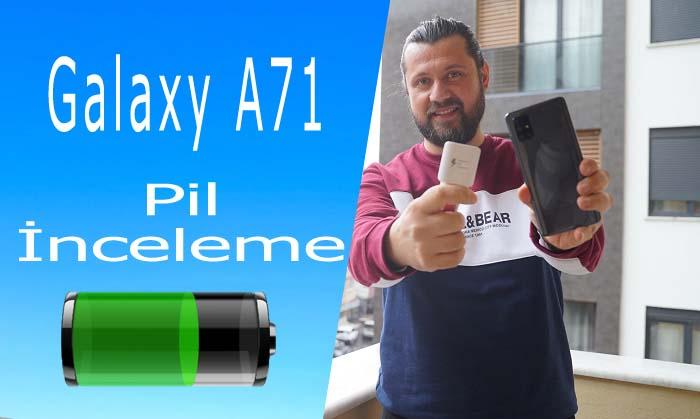 Samsung Galaxy A71 pil testi – Sınıfı geçti mi?
