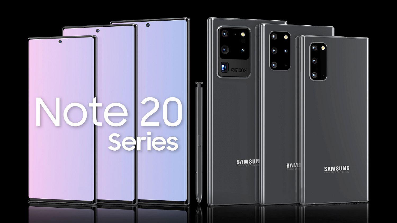 Samsung Galaxy Note 20 Plus 5G göründü! Aman Allah'ım o da ne?