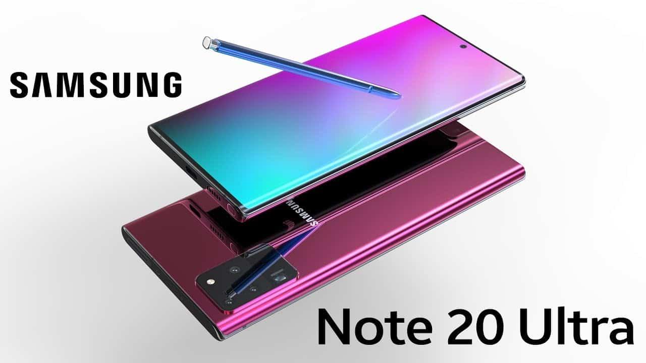Samsung Galaxy Note 20 göründü! Daha büyük S20 Ultra sanki!