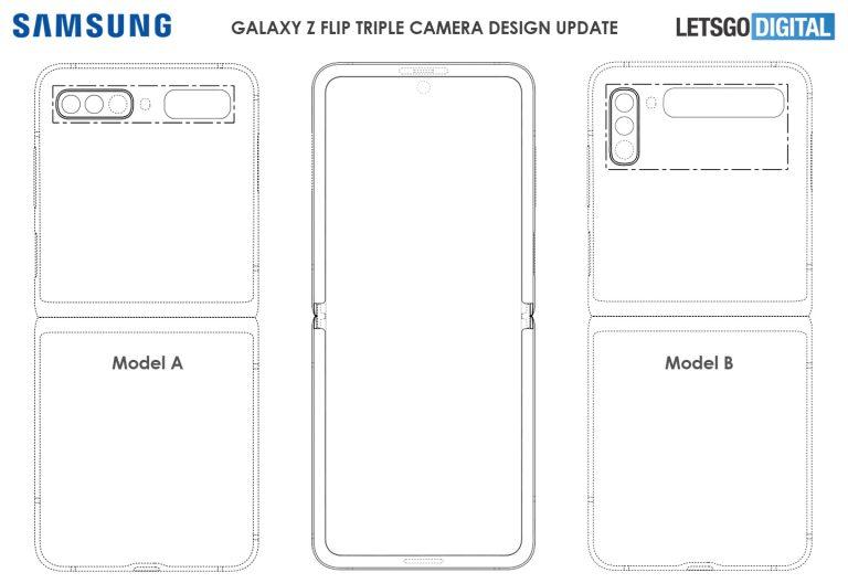Galaxy Z Flip 2'nin patenti