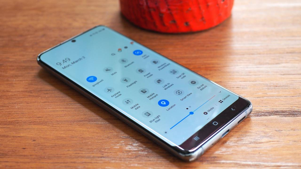Galaxy S9 için One UI 2.1