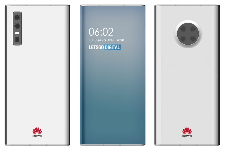 Huawei ekran altı kamera