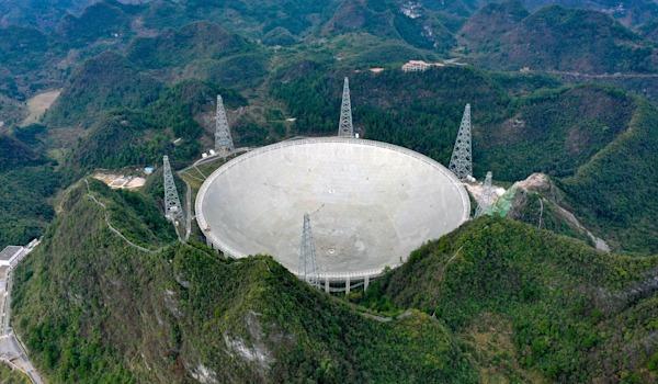 Radyo teleskobunun konumlandırıldığı alan
