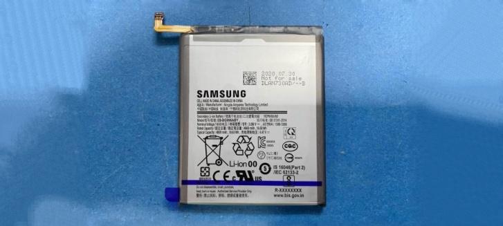Samsung Galaxy S21+ pil