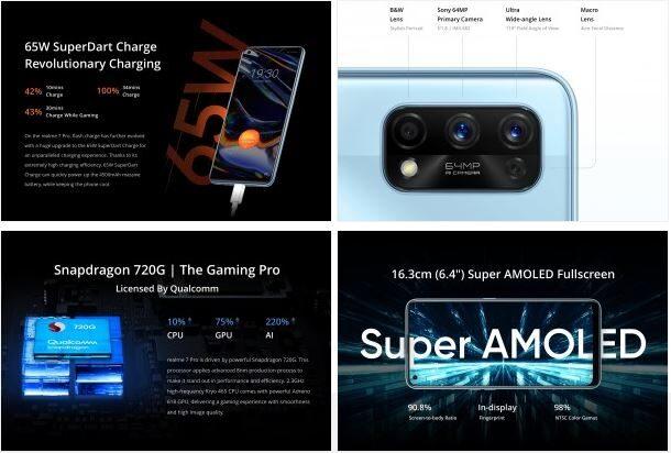 Realme 7 Pro Özellikler