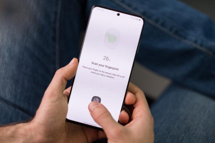 Samsung Ekran Altı Parmak İzi Tarayıcı