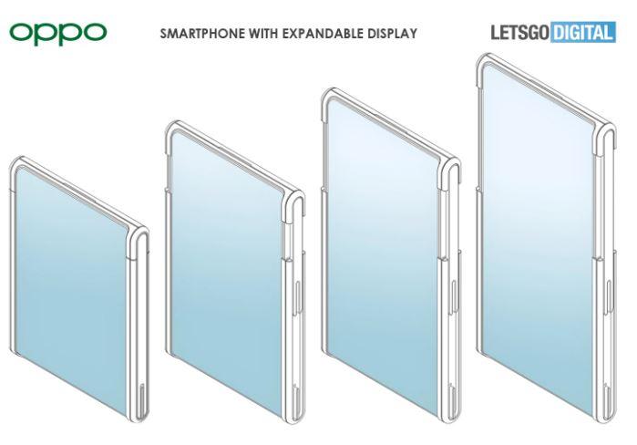 OPPO genişletilebilir ekran patenti