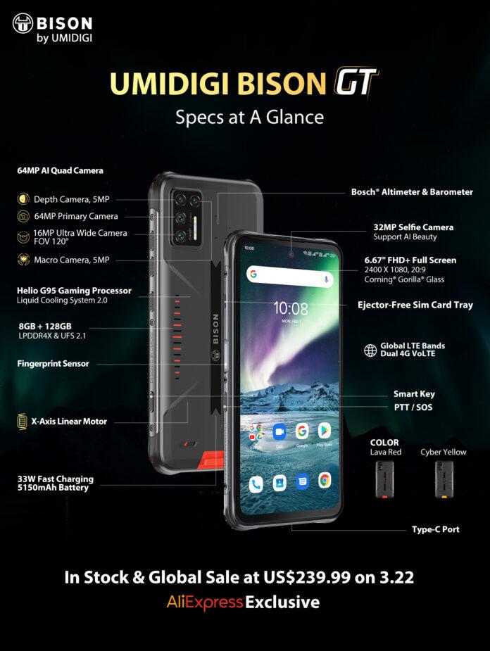 Umidigi BISON GT