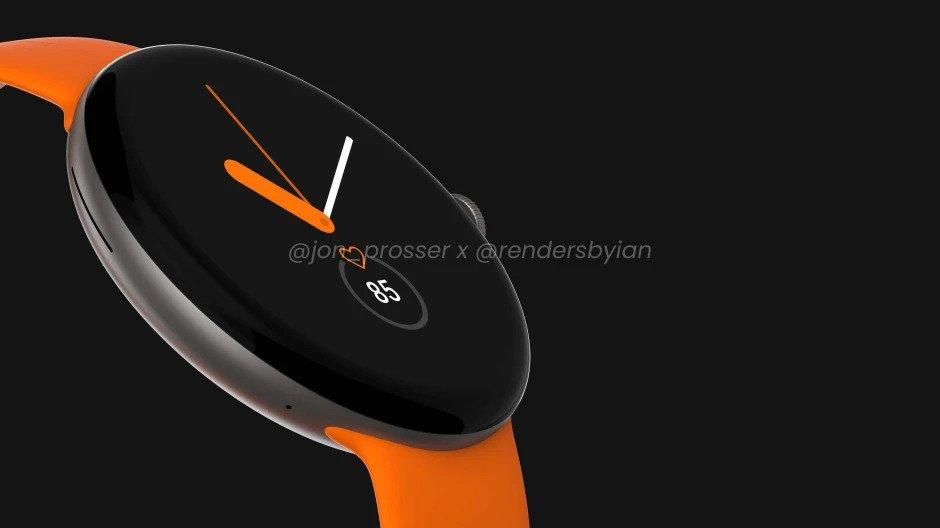 Google Pixel Watch Tasarım
