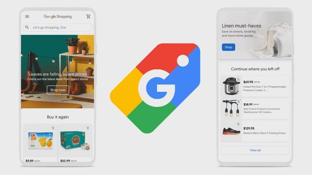 Google Alışveriş Uygulaması