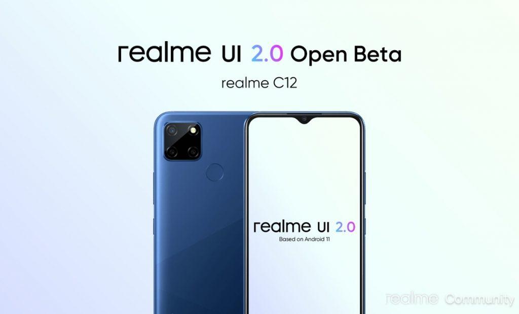 Realme UI 2.0 c12