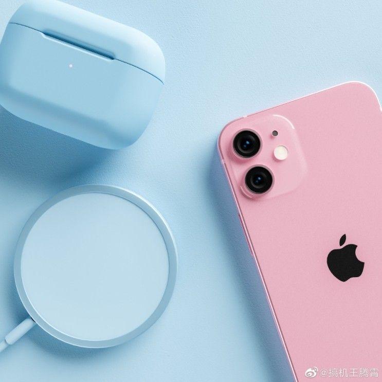iPhone 13 pembe