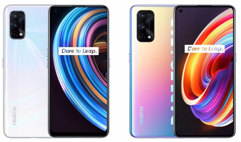 Yukarıdaki görseller Eylül 2020'de tanıtılan Realme X7 Pro ve Realme X7 modellerine ait.