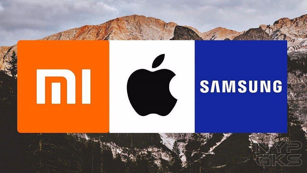 Samsung Xiaomi ve Apple