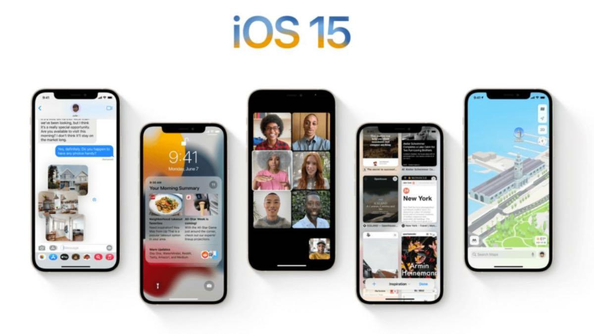 iOS 15 çıkış tarihi