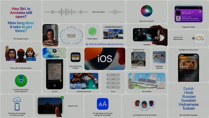 iOS 15 Alan iPhone Modelleri