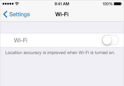 iPhone Wi-Fi Sorunu