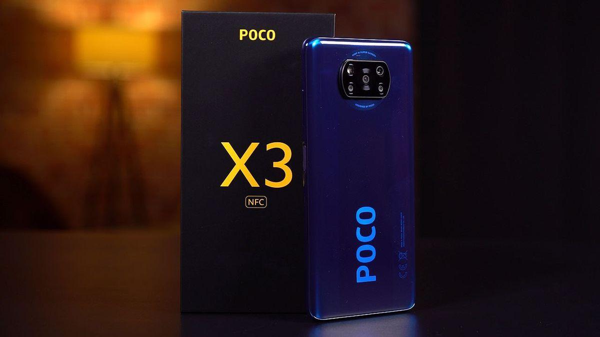 POCO X3 NFC MIUI 12.5