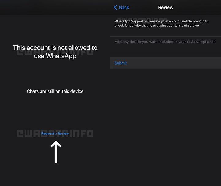 WhatsApp Hesaplarını Banlatmak