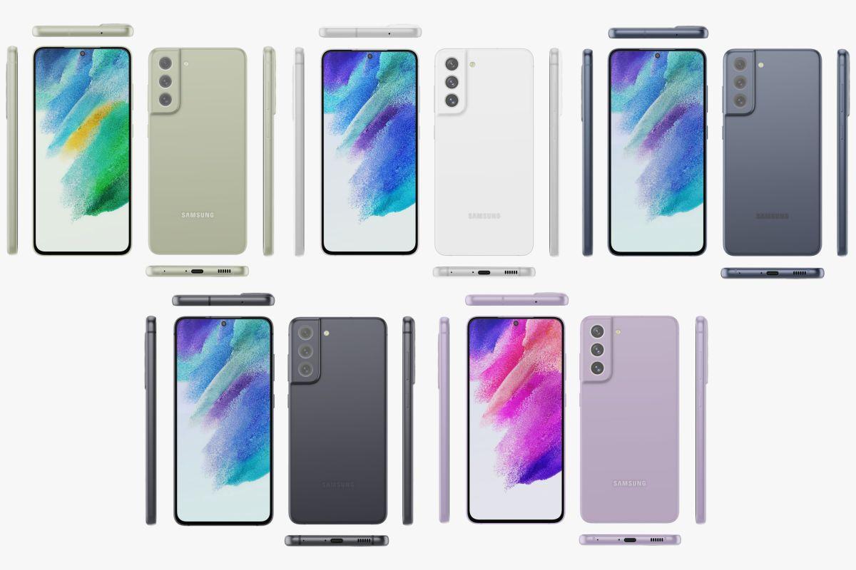 Galaxy S21 FE Tasarımı ve Renk Seçenekleri