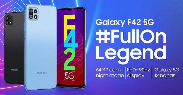 Galaxy F42 5G