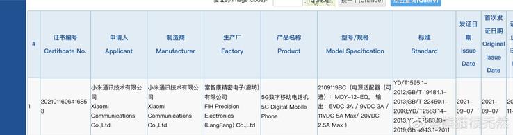 Xiaomi Note 11