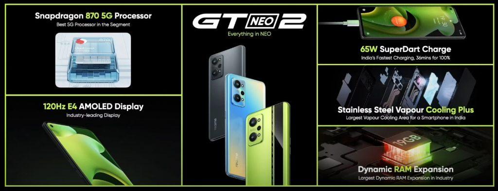 realme GT Neo 2 özellikleri